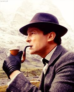 Why I love Sherlock Holmes. He is the first and the best in my book. Jeremy Brett, RIP