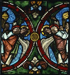 Panel with censing angels 1170-1180