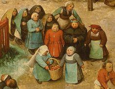 . .:. Detail from Children's Games, Pieter Bruegel the Elder