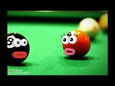 Two pool balls discuss their headaches. Reviews the use of the preterite tense for -ar verbs and the verbs ser and ir in Spanish. - created at http://goanimate.com/