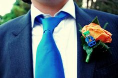 lego boutonniere... might need a chewy one.