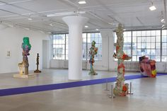 Rachel Harrison Installation view The Help Greene Naftali New York 2012