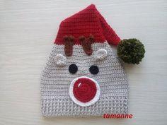 Knitted Deer Beanie Making Crochet Beanie Hat, Beanie Hats, Knitted Hats, Crochet Hats, Knitting Patterns, Crochet Patterns, Crochet Baby Shoes, Womens Fashion Online, Fangirl