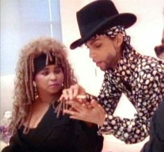 Rosie Gaines and Prince