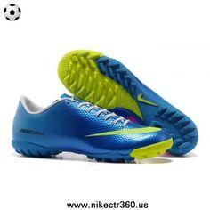 Nike Mercurial Vapor IX TF Blue Green Pink