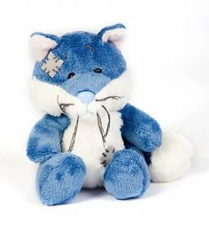 Amazon.com : Tatty Teddy My Blue Nose Friend Fox : Teddy Bear Plush Toys : Toys & Games