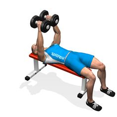 DUMBBELL FLYES - The exercise is fit for the definition of the chest e2d703342fef9