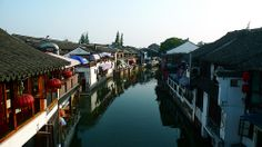 """The beauty of Zhujiajiao. This town is in the Qingpu District of Shanghai. The name means """"Zhu Family Corner."""""""