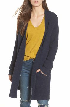 76de68bc07 Main Image - Madewell Waffle Stitch Cardigan Sweater Basic Outfits