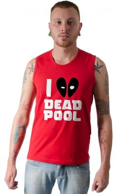 Dica #palcofashion #Camiseta - I love Deadpool #moda #fashion