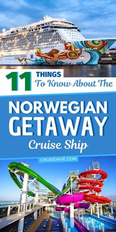 Things to know and cruise tips for the Norwegian Getaway ship operated by Norwegian Cruise Line (NCL). #cruise #cruisetips #norwegiancruiseline #cruiseship #cruisevacation Best Cruise, Cruise Port, Cruise Tips, Cruise Travel, Cruise Vacation, Best Vacation Destinations, Best Vacation Spots, Vacations, Cruise Excursions