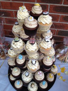 Marisol's Baby Shower Cupcakes