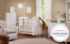 Cute crown molding... Bellini Baby Furniture Stores | Designer Baby Cribs & Kids Furniture