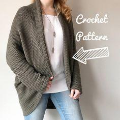 Knitted Coats Cardigans Women Knit Long Sleeve Loose Jackets Warm ... 12c50f7b3