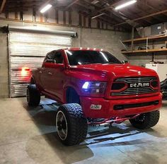 40 Coolest Pictures of Impressive Lifted Dodge Ram 1500 Designs - Awesome Indoor & Outdoor Diesel Trucks, Dodge Diesel, Ram Trucks, Cool Trucks, Chevy Trucks, Pickup Trucks, Dodge Pickup, Cummins Diesel, Dodge Cummins