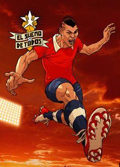 Gary Medel Avengers, Champions League, Salvador, Scores, Goal, Advertising, Childhood, Football, Comics