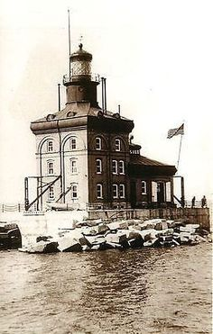 Toledo Harbor #Lighthouse - Collectible Antique Vintage Postcard  - Toledo, #Ohio Toledo Harbor lighthouse with history on back.    -   http://dennisharper.lnf.com/