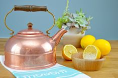 An easy and natural way to clean copper pots, pans and other items in seconds!