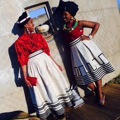 xhosa traditional wear designs 2017 - style you 7 African Print Dresses, African Print Fashion, Africa Fashion, African Fashion Dresses, Ethnic Fashion, African Dress, Unique Fashion, African Prints, African Clothes