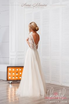 Свадебное платье Anne-Mariée Chental - Интернет-магазин свадебных и вечерних платьев «Свадебный бум!»