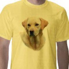 Hangover 2 Yellow Lab T-shirt  by Rita Reed, Friskybizpet Design,LLC