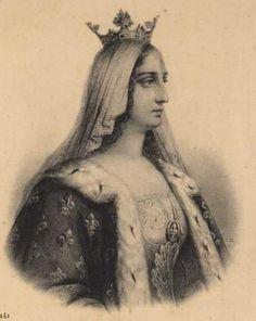 La reine Blanche de Castille régente de France