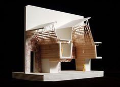 Cocktail sticks could be an excellent material when creating models of your building Wood Architecture, Architecture Visualization, Architecture Student, Architecture Drawings, Concept Architecture, Architecture Details, Architecture Models, Scale Models, Architectural Scale