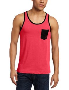 Body Glove Men's Simpleton Tank Top, Red Heather, Small « Impulse Clothes