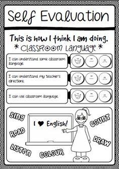 Self assessment essay english class