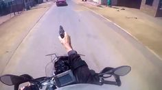 Road Rage in South Africa , Police shooting on suspect.