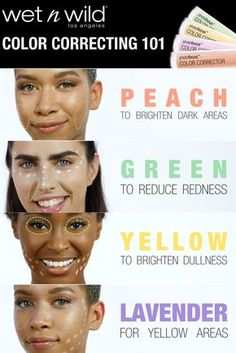 The Photo Focus Color Corrector is lightweight and blends easily, providing the perfect coverage for trouble areas. Color Correcting Guide, Color Correcting Concealer, Contour Makeup, Skin Makeup, Corrective Makeup, Contouring, Color Correction Makeup, Dark Circles Makeup, Concealer For Dark Circles