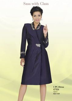 dresses for church | Ben Marc Intl 47324 Womens Dress for Church image