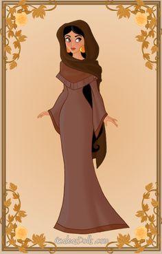 Jasmine { Peasant Dress } by kawaiibrit on DeviantArt Disneyland Princess, Disney Princess Jasmine, Disney Princess Pictures, Aladdin And Jasmine, Princess Cartoon, Disney Nerd, Disney Fan Art, Cute Disney, Disney Pixar