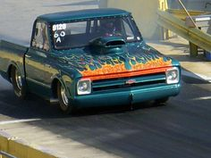 Chevrolet C10 Classic Pro Street Pickup by V8 Power, via Flickr