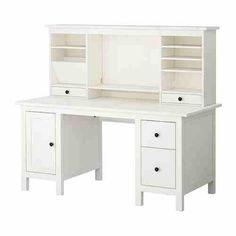 Ikea hemmes desk 459.00, white Ikea desk