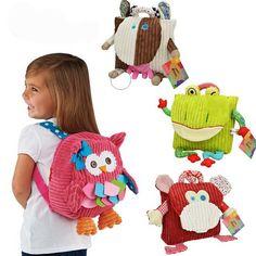 mochila de coruja rosa - Pesquisa Google