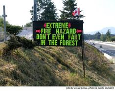 Funny pictures about Fire Hazard. Oh, and cool pics about Fire Hazard. Also, Fire Hazard photos. Funny Warning Signs, Funny Road Signs, Funny Fails, Funny Jokes, Dad Jokes, Funny Texts, Farts Funny, Funny Drunk, Silly Jokes
