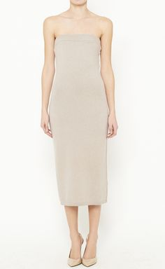 T by Alexander Wang Taupe Dress