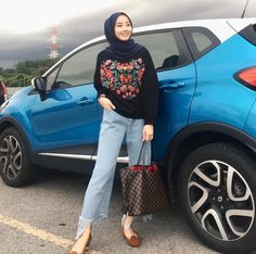 Boho hijab looks Modern Hijab Fashion, Street Hijab Fashion, Arab Fashion, Hijab Fashion Inspiration, Muslim Fashion, Casual Hijab Outfit, Hijab Chic, Casual Outfits, Fashion Outfits