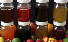 8 fruit and herb honey syrups you can make at home and have to add flavor to your water or tea, smoothies or other things you would like to add a fruity Smoothie Recipes With Yogurt, Yogurt Smoothies, Easy Smoothies, Making Smoothies, Protein Smoothies, Breakfast Smoothies, Mixed Fruit Smoothie, Carbonated Soft Drinks, Honey