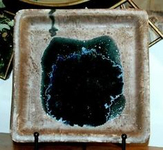 Square Plate Water Bottom