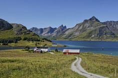 The village in the Lofoten Islands by Ari Niippa