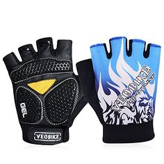 Girls' Cycling Gloves - Padded Specialized Body Geometry Gloves For MensWomens Mountain Biking Pro Driving Road Cycling Jogging Gym Workout Hiking Climbing Mtb BMX Gloves Outdoor Research Mittens ** Find out more about the great product at the image link.