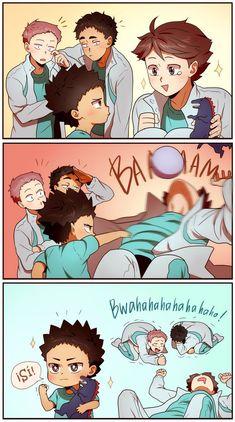 Anime Picture - Haikyuu Special :) - Page 3 - Wattpad Haikyuu Kageyama, Manga Haikyuu, Hinata, Haikyuu Funny, Haikyuu Fanart, Anime Chibi, Me Anime, Manga Anime, Anime Boys
