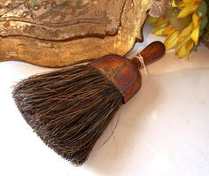 Vintage Art Deco Industrial Whisk Broom by AloofNewfWhimsy on Etsy, $32.00