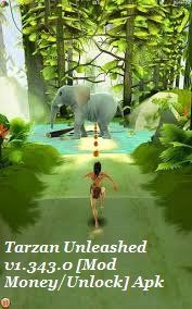 Tarzan Unleashed Apk v1.343.0 is a Free App for Android ,Race with Tarzan, the original superhero, in this thrilling Endless Runner! Download