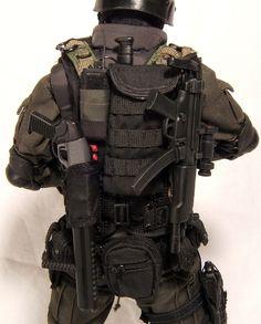 hip armour leather | Custom HT Resident Evil 4 HUNK and LEON RPD