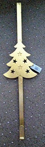 Beautiful Sturdy 18 inch Gold Christmas Tree Door Wreath Hanger * You can find more details by visiting the image link.
