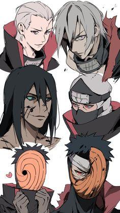 Sasori And Deidara, Hidan And Kakuzu, Manga Naruto, Naruto Sasuke Sakura, Naruto Shippuden Sasuke, Itachi Uchiha, Boruto, Naruto Sd, Akatsuki