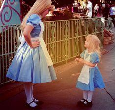Too cute! Alice in wonderland